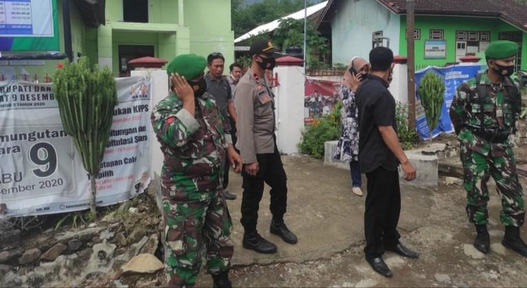 H-6 Pilkada KSB, TNI-Polri Kawal Pendistribusian APD
