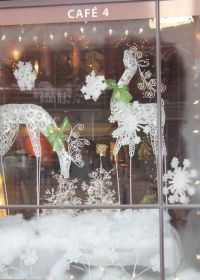 Christmas Window Displays, Cafe 4, Gay Street, Knoxville ...