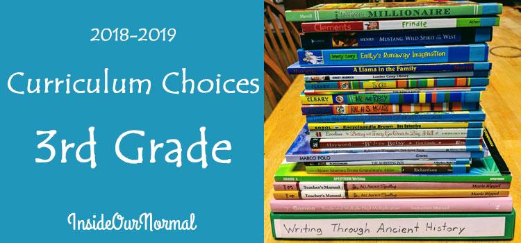 3rd Grade Curriculum Choices InsideOurNormal