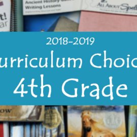 4th Grade Curriculum Choices InsideOurNormal