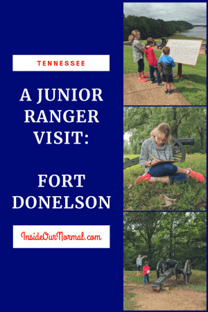 Fort Donelson Junior Ranger @InsideOurNormal