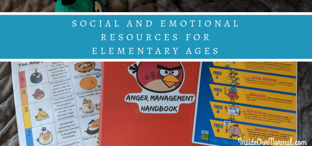Social & Emotional Resources for Elementary Ages