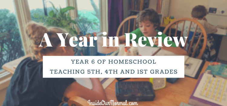 A Curriculum Look Back: 1st, 4th, 5th grades
