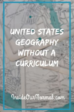 US Geography without a Curriculum