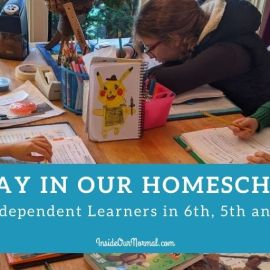 A Day in Our Homeschool Life: 2nd, 5th, 6th grades