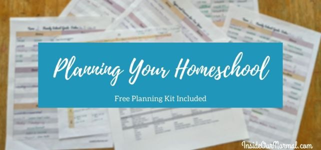 Homeschool Planning for the DIY Mom