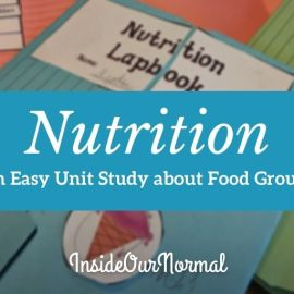 The Food Groups, A Unit Study on Nutrition