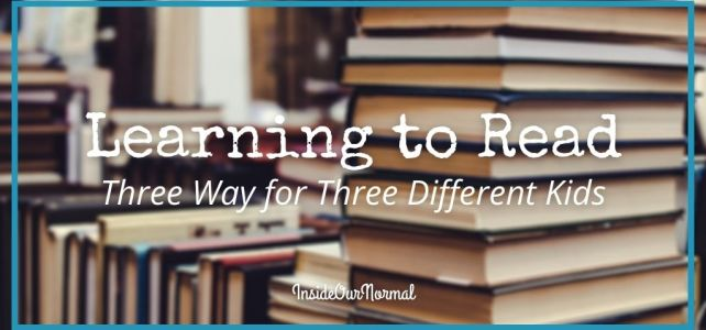 Learning to Read: Stories of Experience from a Veteran