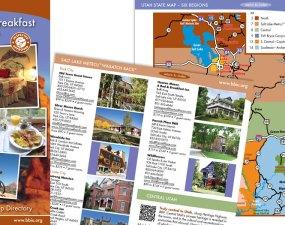 Bed & Breakfast Inns of Utah - print marketing
