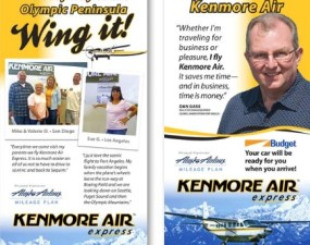 Kenmore Air Express banners