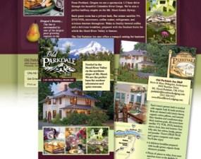 Old Parkdale Inn print design