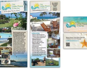 Our Little Place In The Sun - print marketing