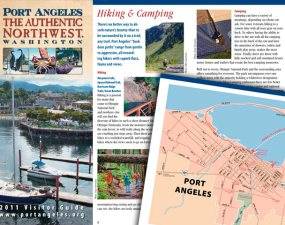 Port Angeles tourism brochure