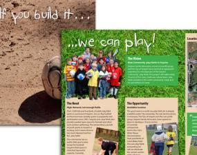 Sequim's Play Fields brochure