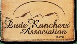 Dude Ranchers' Association logo
