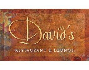 David's Restaurant & Lounge Logo design