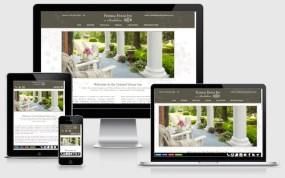 Federal House Inn - responsive bed & breakfast website design
