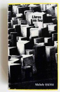 livre sur l'autodafé dans une boîte d'allumettes