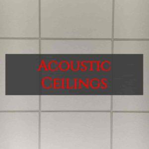 acoustic ceilings inside out builders