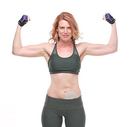 Erin Goodwin Muscle Flex