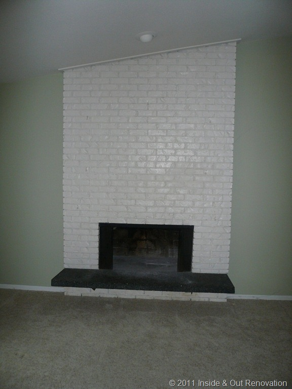 Removing Gas Fireplace Insert East Bellevue Fireplace Remodel