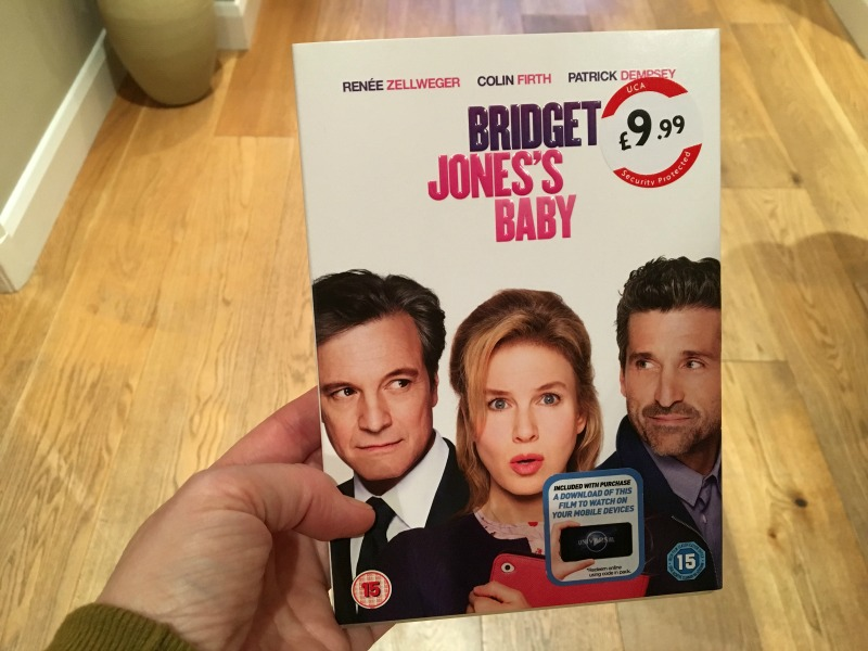 Bridget Jones's Baby DVD
