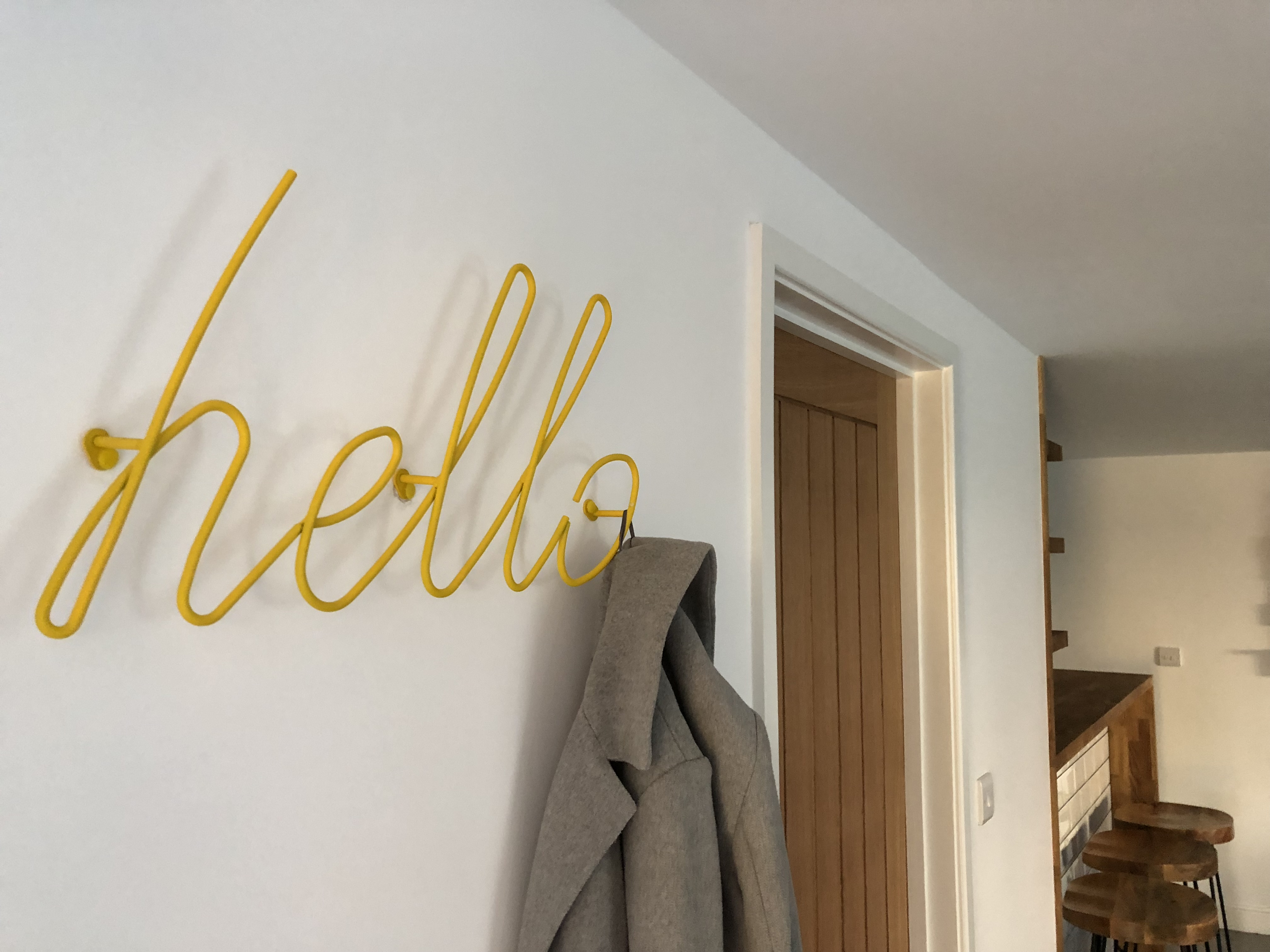 hello sign from red candy