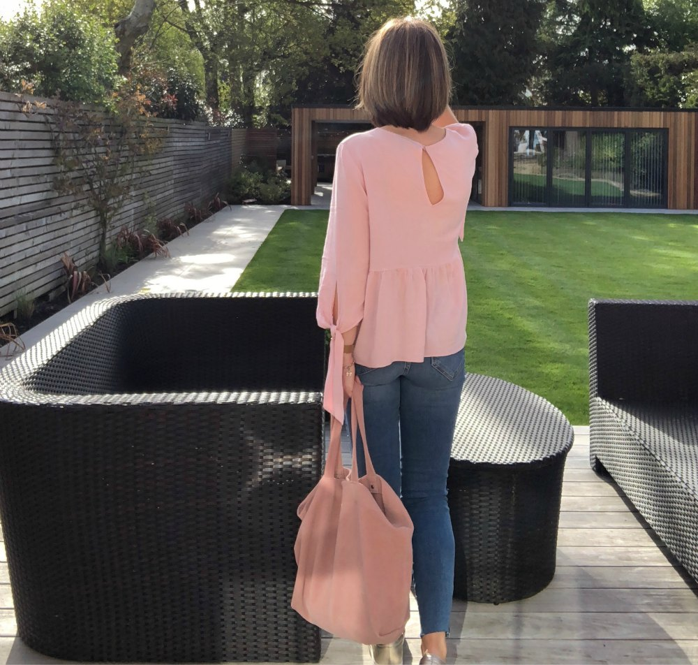pink top from Top shop