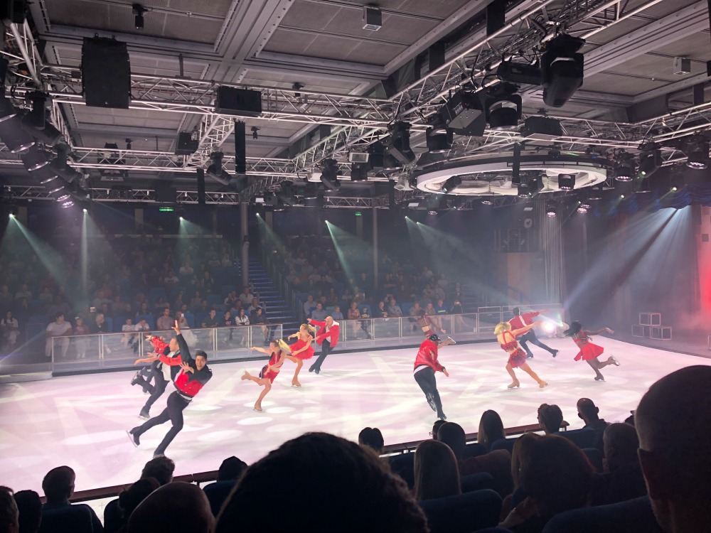 Symphony of the Seas Ice Skating Show