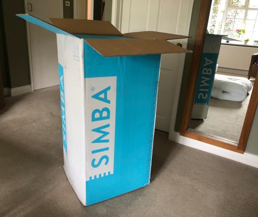 Simba Hybrid Mattress in a Box