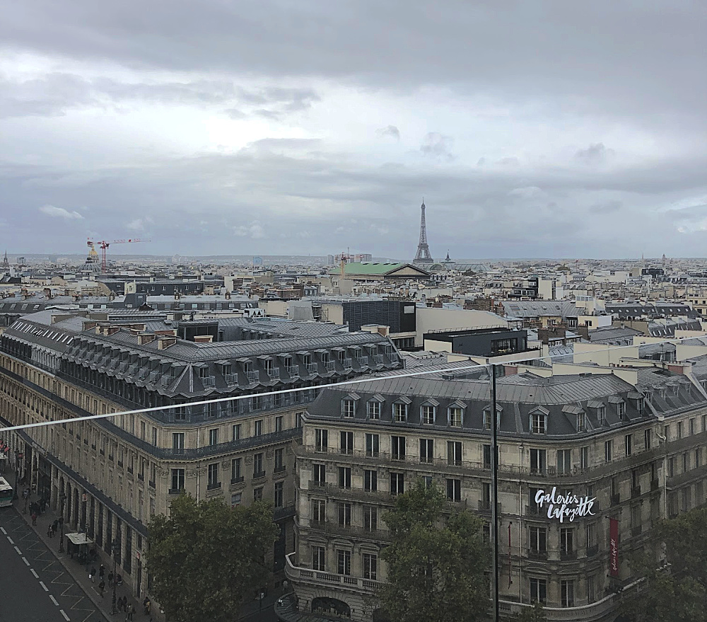 Galeries Lafayette view