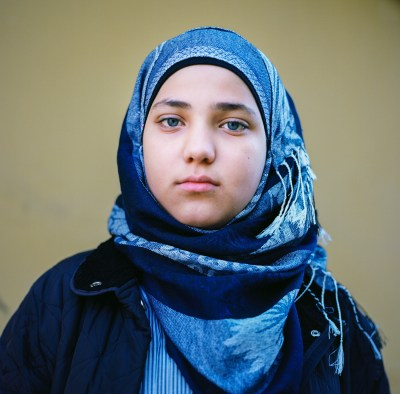 Syrian girl in Reyhanli, Turkey by Mieke Strand