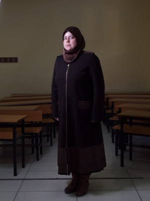 Teacher at the Friendship School in Gaziantep, Turkey, by David Gross