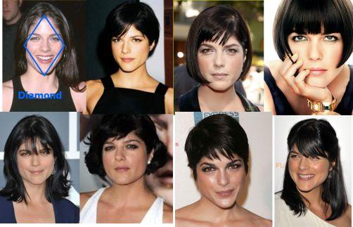 Best Hairstyles For Your Face Shape Diamond