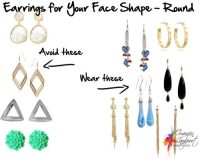 Earrings For Your Face Shape - Round