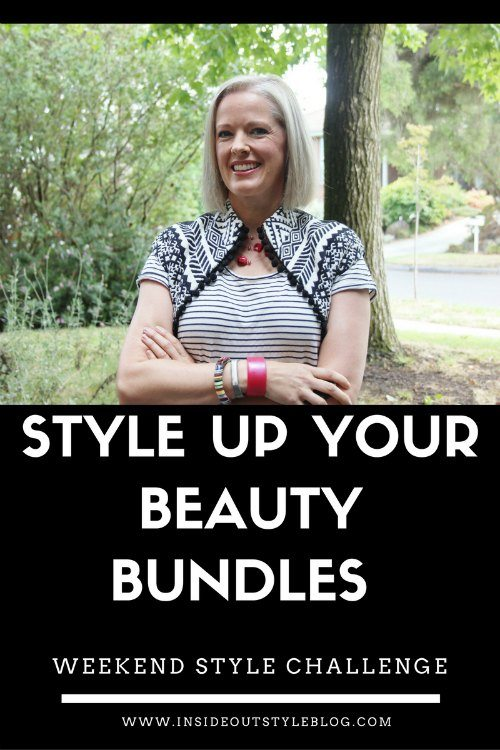 Style Up Your Beauty Bundles  Weekend Style Challenge