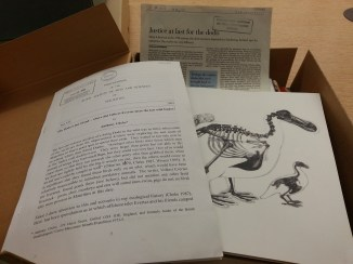 Alexander Library of Ornithology: The file on the dodo
