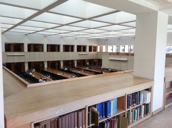 Bodleian Law Library: Gallery, Law Collection, Level 3