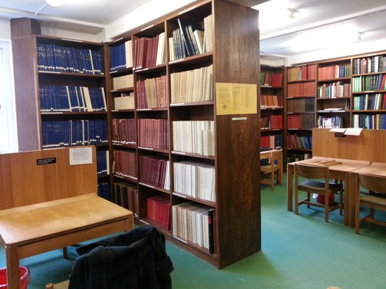 Music Faculty Library: Inside the 'MFL'