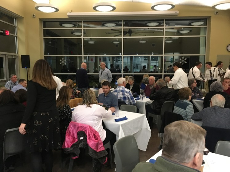 More than 65 guests, including community members, staff and stakeholders, attended the Rogue Valley YCF's Winter Festival, raising nearly $5,000 for youth.