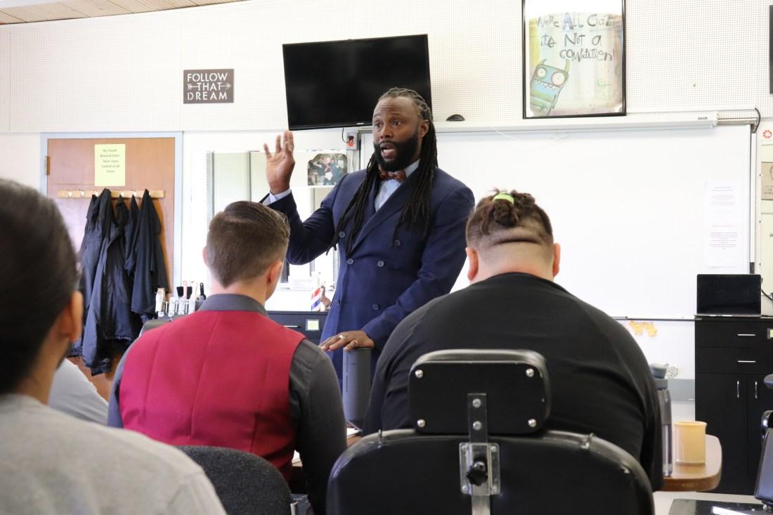 On the Cutting Edge: Master Barber Inspires OYA Youth – Inside OYA