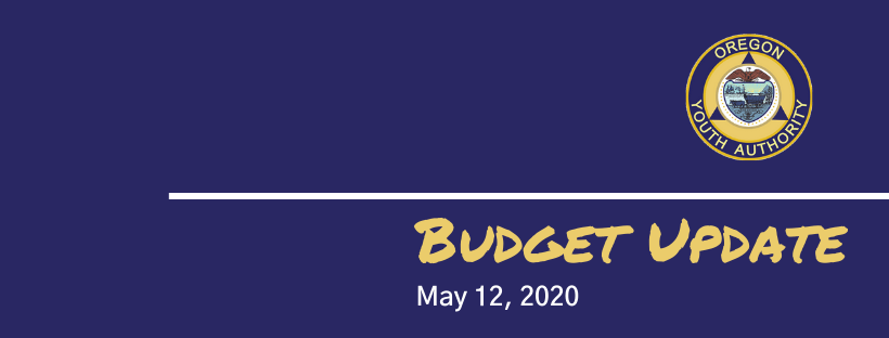 Budget update for May 12, 2020