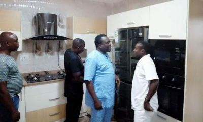 Sunday Igboho Takes Saidi Osupa To His Multi-Million Naira New House (SEE PHOTOS)