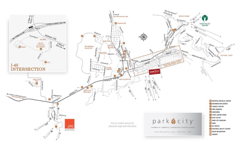 graphic about Printable Map of Utah identify Printable Park Town, Utah Maps - Previous Metropolis Park Metropolis Space
