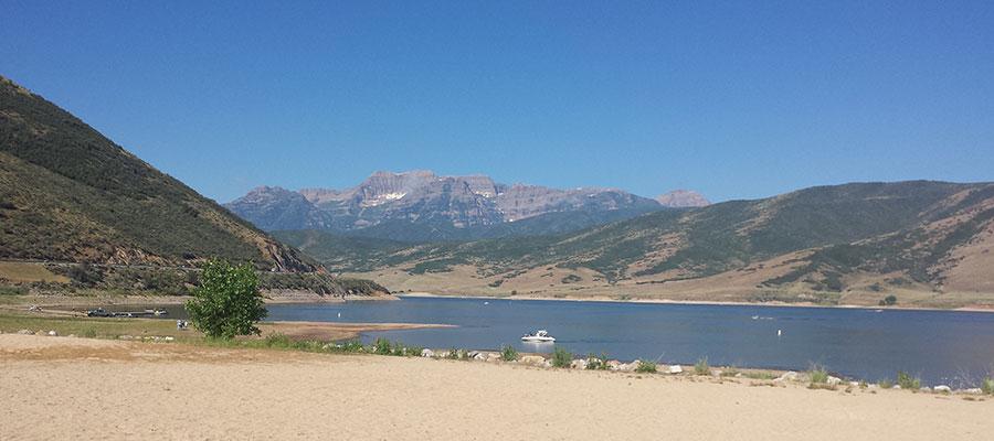 Heber Valley's Deer Creek Reservoir