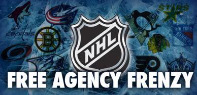 NHL Free Agency Frenzy 2010