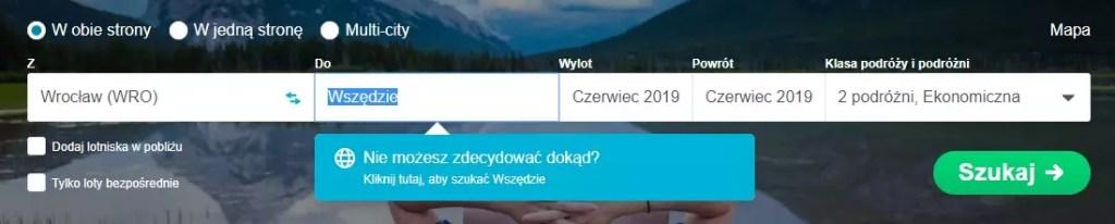 Skyscanner.pl - поиск недорогих путешествий