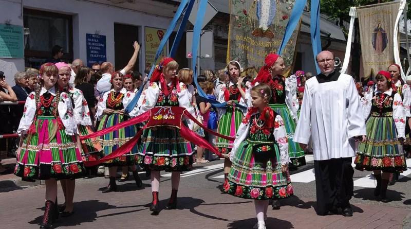 Праздник Bożego Ciała в Польше