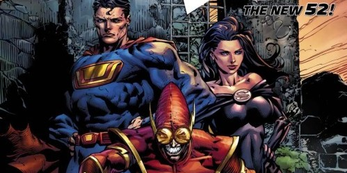 Crime Syndicate DC New 52 Forever Evil #2 David Finch Cover