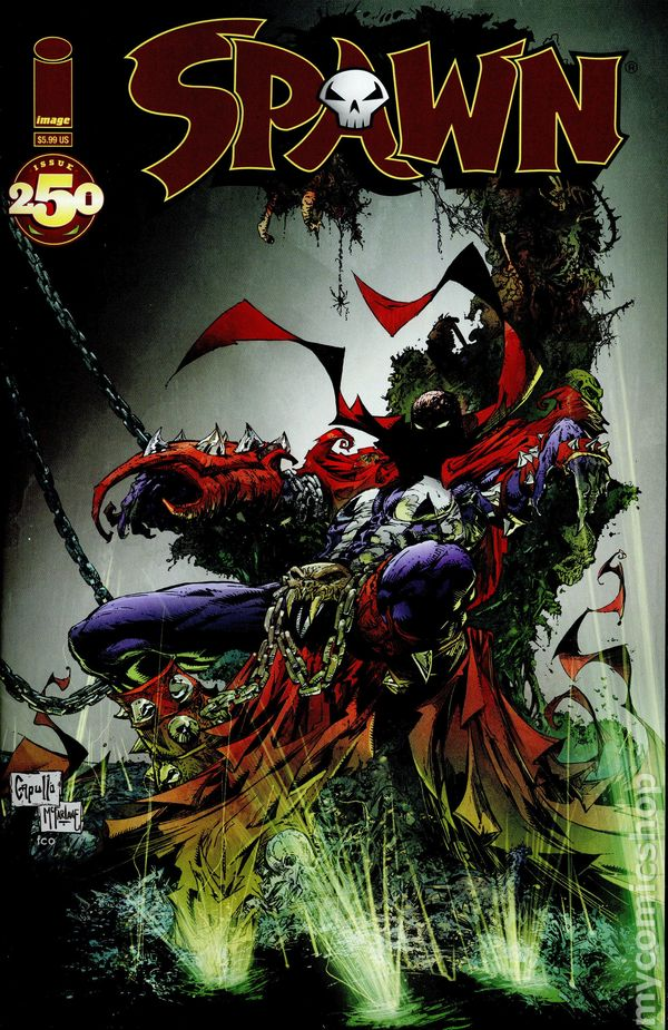 Image Comics Anniversary Review  Spoilers Spawn 250 by